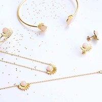 """Collection bijoux pierre semi précieuses """"Eclipse"""""""