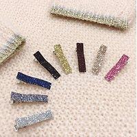 | PAULETTE | - Mini barrette glitter // Coloris au choix