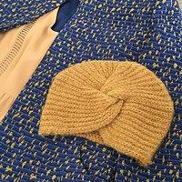 | BRADY |- Bonnet turban en laine // Plusieurs coloris