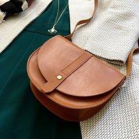 | EQUIDIA | - Petit sac besace lisse // Plusieurs coloris