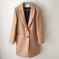 | MAXIME | - Long manteau en laine // Camel