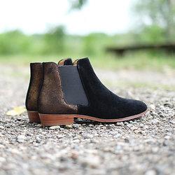 | PIED DE BICHE | - Chelsea boots irisées