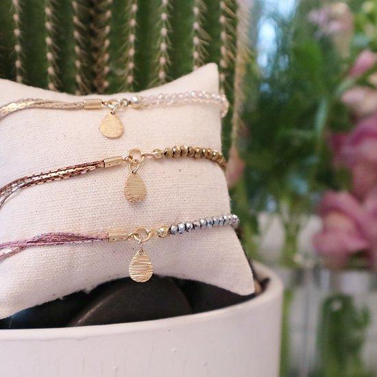   POLA   - Bracelet perles & chaînettes // Plusieurs coloris
