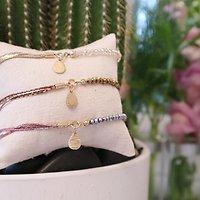 | POLA | - Bracelet perles & chaînettes // Plusieurs coloris