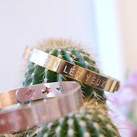 | RÊVES | - Bracelet jonc ajustable // Plusieurs coloris