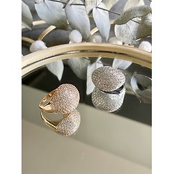 Bague strass June