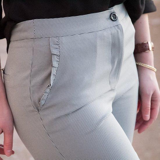 | BIG BEN | - Pantalon pied de poule