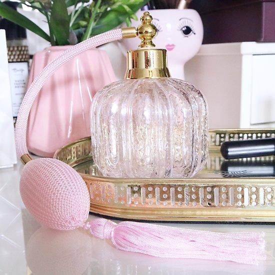 | ALICE | - Bouteille de parfum rétro // Rose