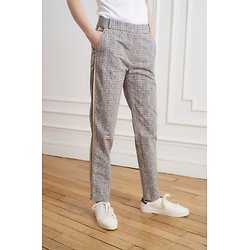 | PIERRE | - Pantalon cigarette carreaux