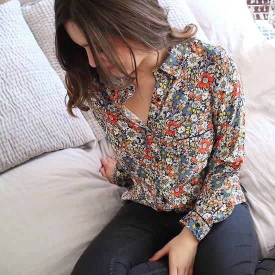 | CAVALIER | - Chemise fleurie