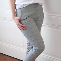 | PAROLE | - Pantalon cigarette // Prince de Galles