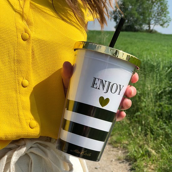 | TIMON | - Travel mug paille