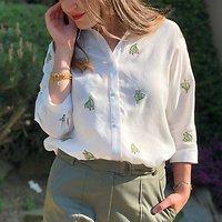 | NOELLA | - Chemise ample cactus // Plusieurs coloris