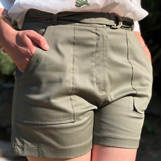 | SAMEDI | - Short grandes poches // Kaki