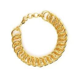 | GISELE | - Bracelet doré à l'or fin