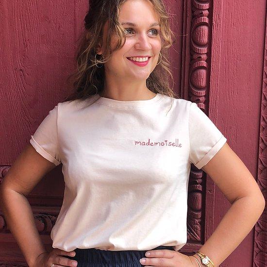 | MADEMOISELLE | - T-shirt brodé