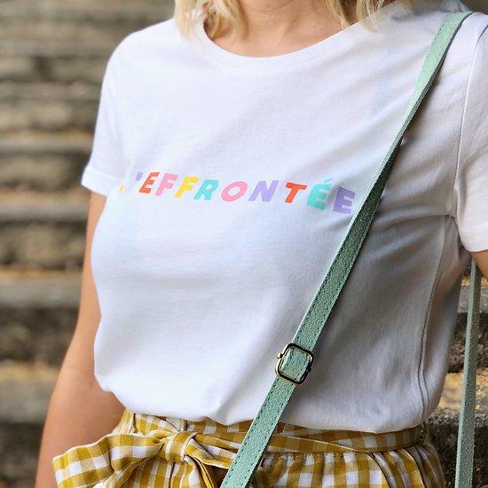 | L'EFFRONTÉE | - T-shirt à message