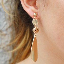 | COLINE | - Boucles d'oreille goutte