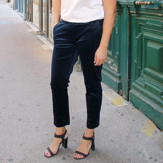 | PARFUME | - Pantalon droit velours