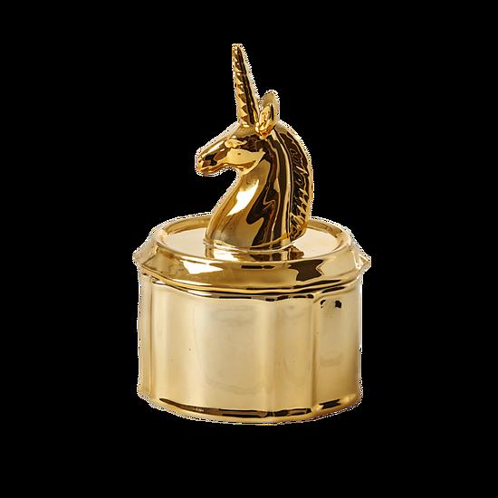 | CAMILLE | - Petite boîte à bijoux licorne