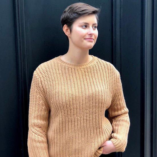   PASHA   - Pull maille crochet