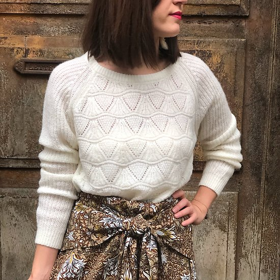 | EDITH | - Pull maille fantaisie