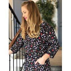 | RARE | - Robe longue fleurie