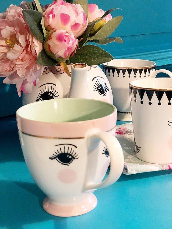 | DUCHESSE | - Mug céramique yeux