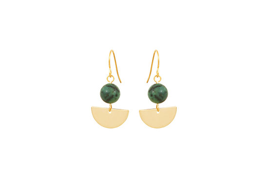   CELESTE   - Boucles Perles