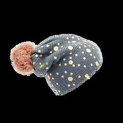 | JILL | - Bonnet pompons + pois