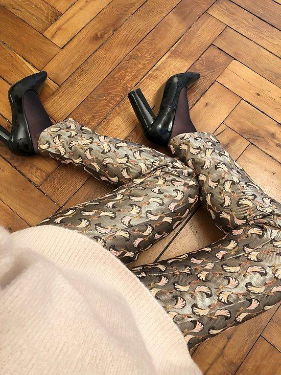 | PROSPER | - Pantalon jacquard