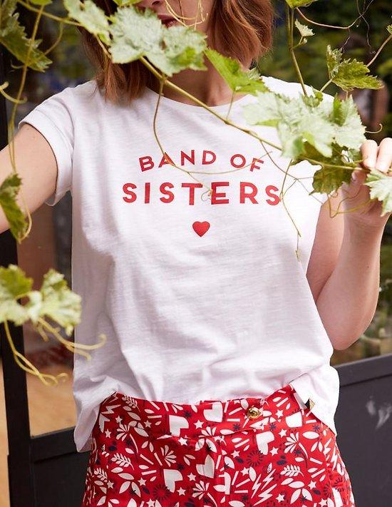 | BAND OF SISTERS | - T-shirt imprimé