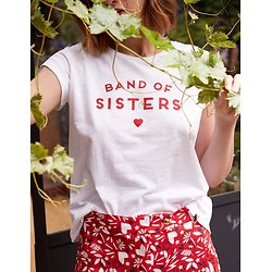 | BAND OF SISTERS | - T-shirt imprimé