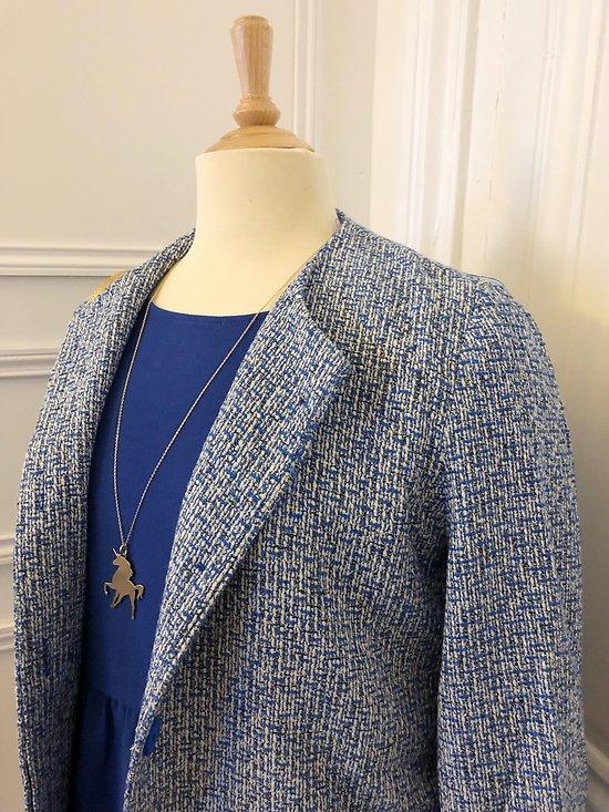 | VALENTINE | - Veste mi-saison tweed