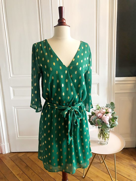 | CHRISTELLE | - Robe portefeuille