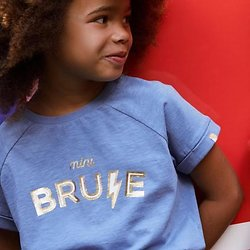 T-shirt Mini Brune