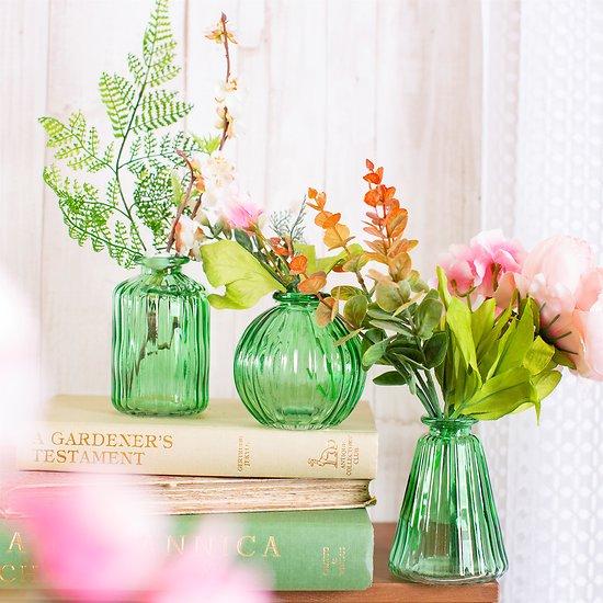 Lot de 3 vases Malika