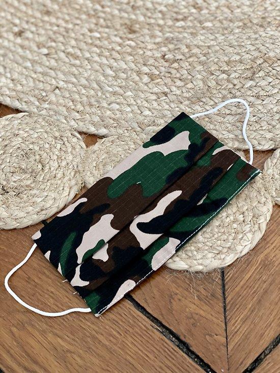 Masque tissu camouflage