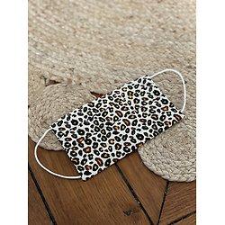 Masque tissu léopard