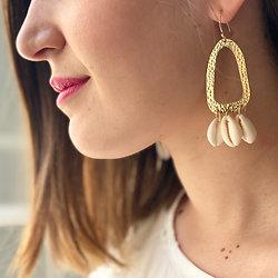 Boucles d'oreilles Tahina