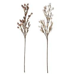 Set de 2 fleurs artificielles