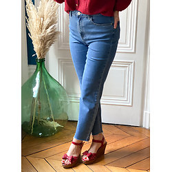 Jean mom fit Albertine