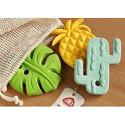 Set de jouets en caoutchouc