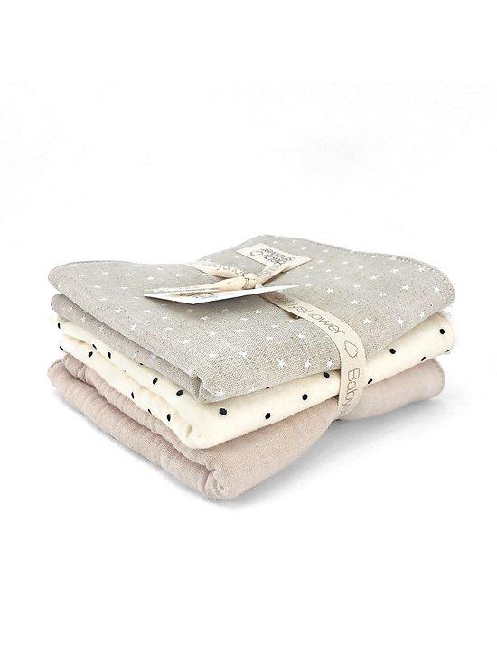 Lot de 3 serviettes Gaby