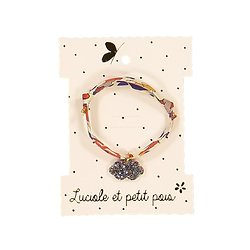 Bracelet tissu nuage