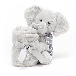 Doudou plat éléphant Dumbo
