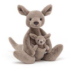 Peluche kangourou Kara