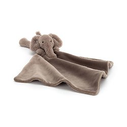 Doudou plat éléphant