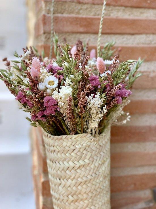 Bouquet + panier suspendu Canyelles