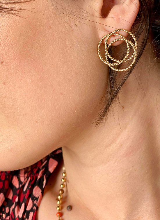 Boucles d'oreilles Rosaly